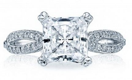 Women's engagement diamond rings