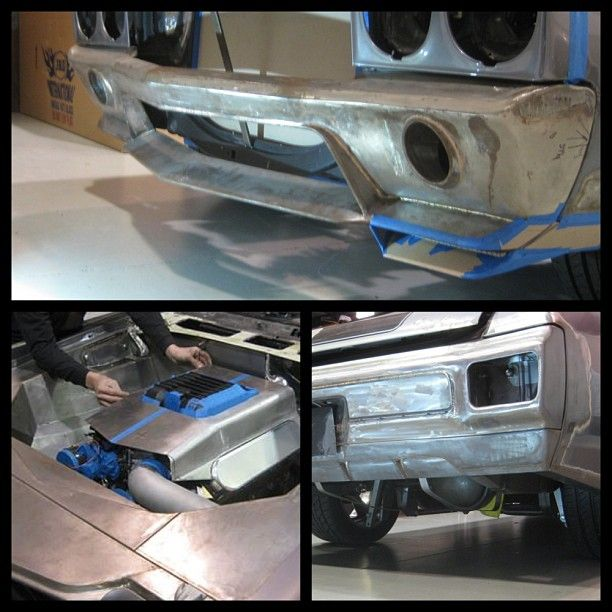 East Bay Muscle Cars Miguel S Front Bumper Modifications On His 70 Chevelle Is Coming Along Nicely Custom Spoiler Ground E Chevelle Car Chevy Chevelle Chevelle