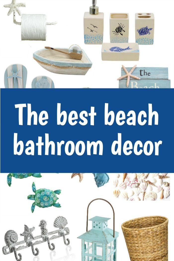 The Best Beach Decor for the Bathroom on Amazon in 2020 ...