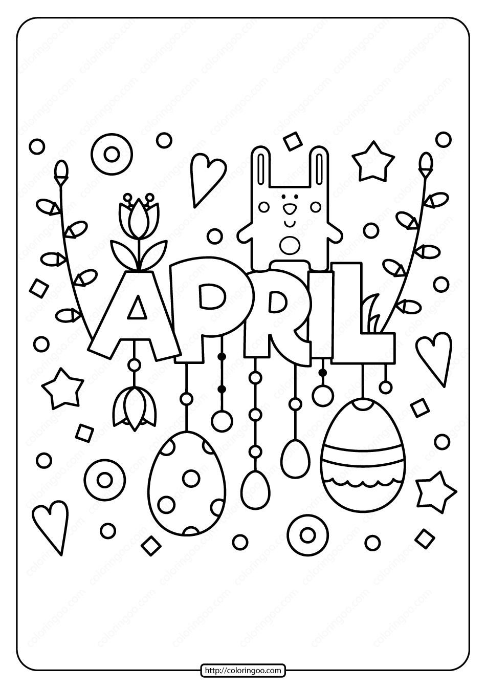 Spring Coloring Pages Printable Pdf Tips