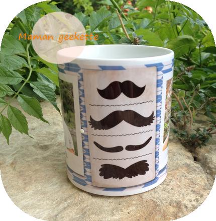 Mam@n geekette: [Concours] Mon mug à thème Photobox