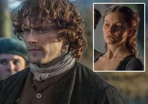 If it looked like Jamie wanted to kiss Laoghaire in Sunday's Outlander, star Sam Heughan says, that's because he did. The episode included a scene not found in the Diana Gabaldon novel on which the Starz series is based; in the interlude, Heughan's character is confronted by Laoghaire MacKenzie, the 17-year-old who thought she was Jamie's main squeeze…