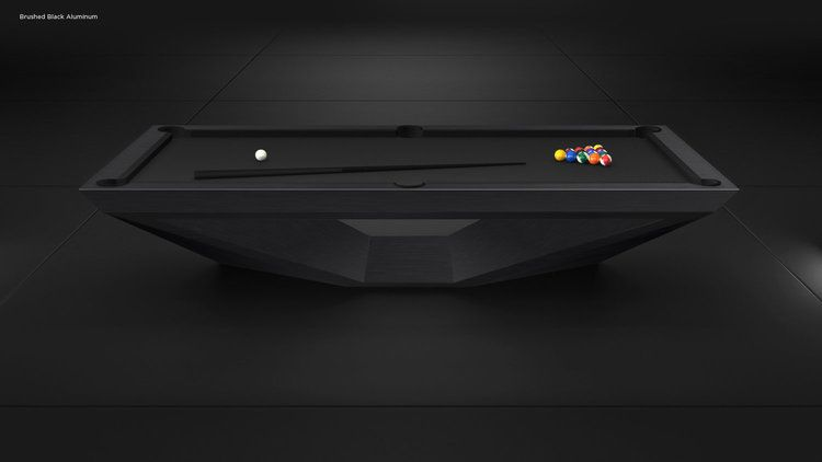 Stealth Convertible Pool Table Dining Table Combo Luxury Modern
