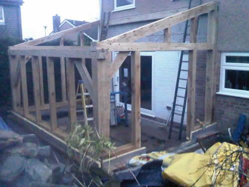 Traditional Oak Timber Frame Manufacture Devon Garden Room Extensions Timber Framing Timber Frame Building