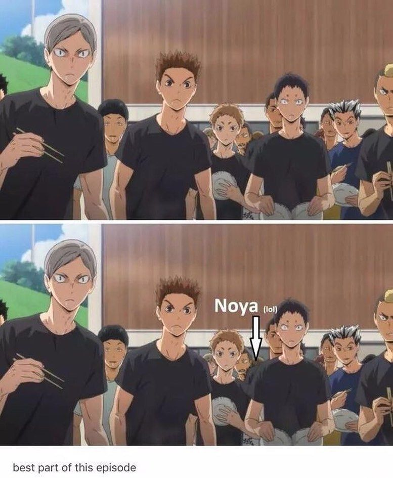 "Haikyuu_Memes on Instagram: ""Noya is taller than me- . . . . [Tags] #haikyuu #haikyuumeme #haikyuumemes #nishinoya"