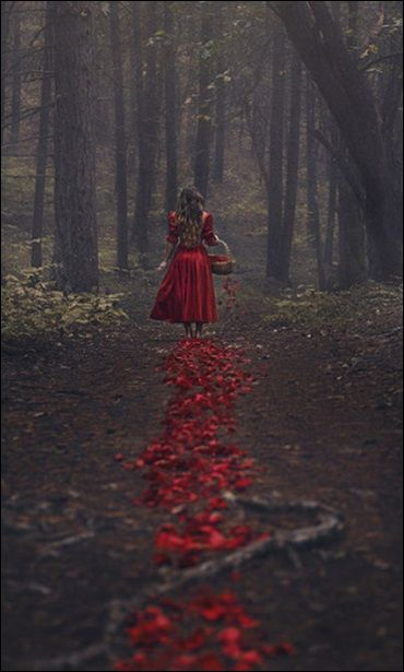 crescentmoon06:    The Trail of Red by parvana_photography on Flickr.