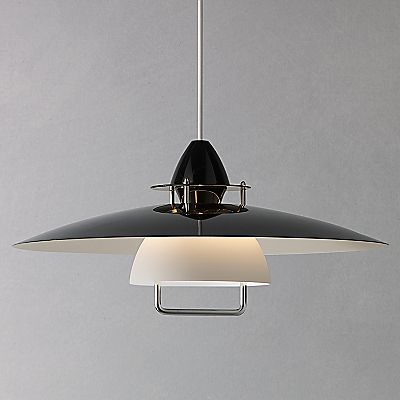 Buy John Lewis Zalo Rise and Fall Pendant, Black online at JohnLewis.com - John Lewis £115