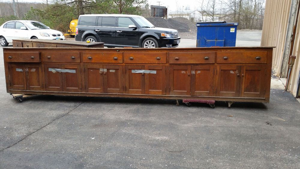 Antique General store Counter Drawers and cabinets | General store ...