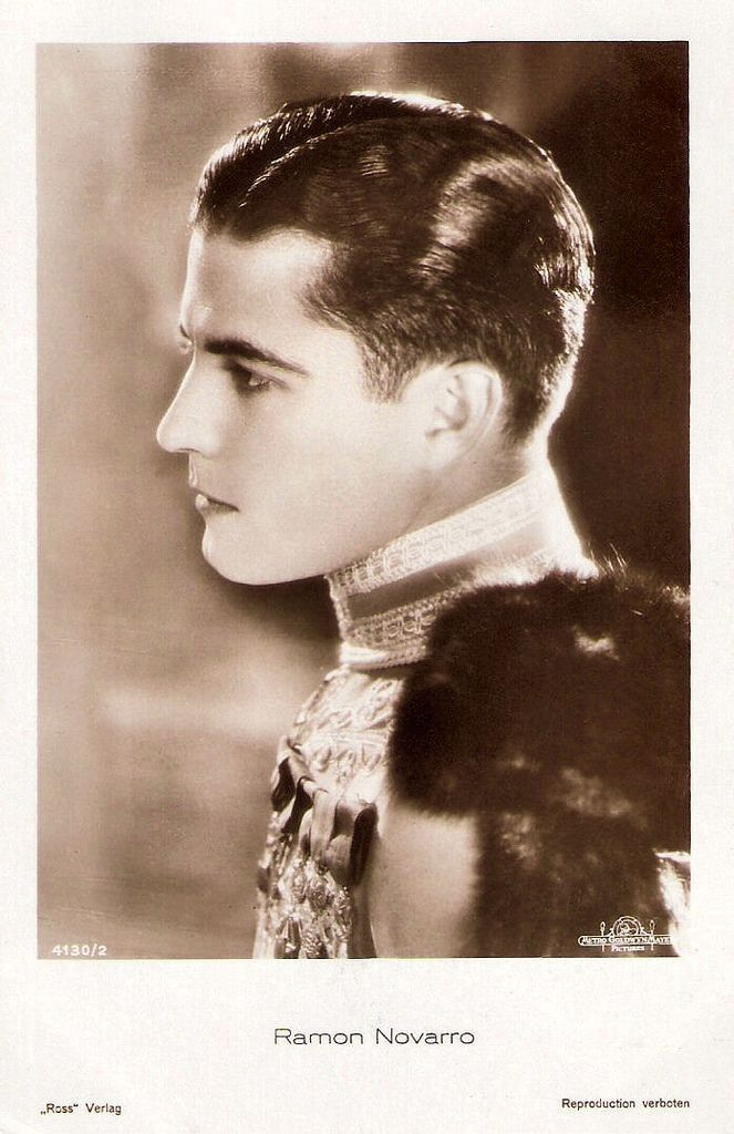 Marceline Day and Ramon Novarro in A Certain Young Man 1928