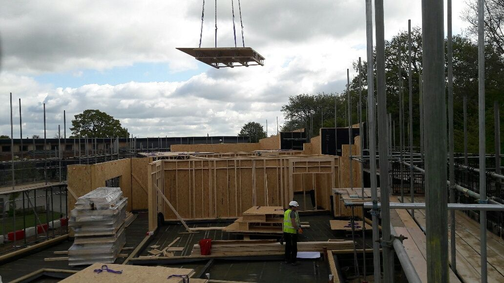 """Pasquill_UK on Twitter: """"Pasquill roof cassettes nearly installed for phase 1 of this project for St Clements. Working with @InnovareSIPs. https://t.co/hyWpmbm8Ol"""""""
