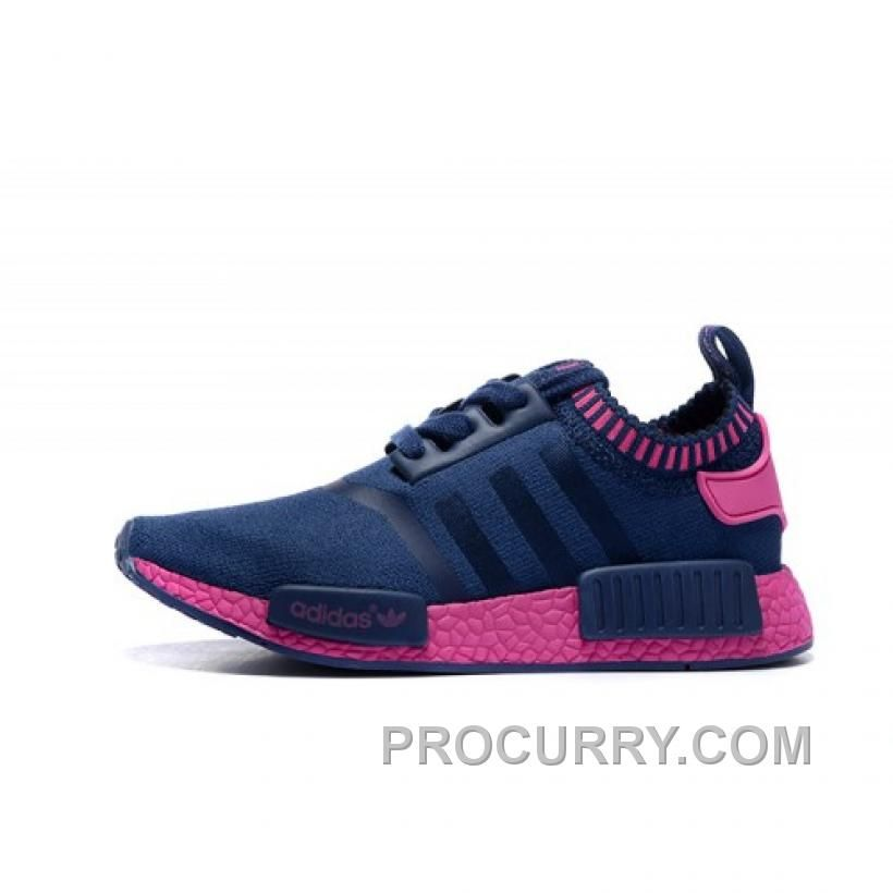 Discount Adidas NMD Runner women shoes blue red Sneakers Hot Sales, Adidas  NMD Shoes UK Online In Stock With One Month Back Or Back Available!