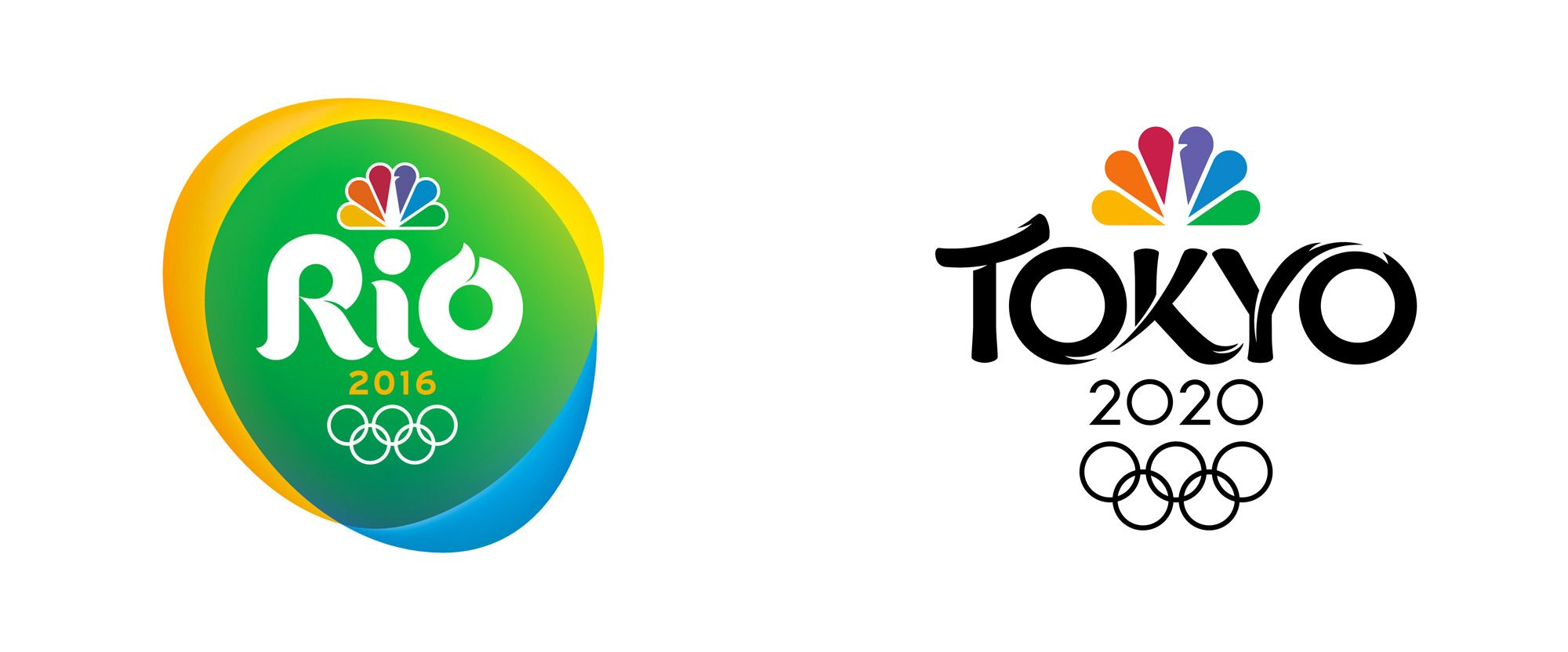 Noted New Logo for NBC Olympics 2020 Broadcast by Mocean