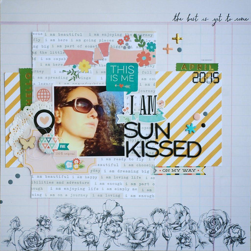 my scrap corner: Sun kissed