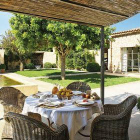P rgolas y toldos para la terraza o el porche las for Decorar porche pequeno