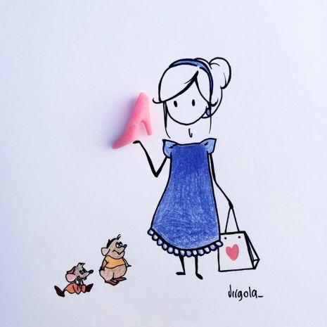 Un dolcetto è la scarpina di Cenerentola Virgola by Virginia Di Giorgio