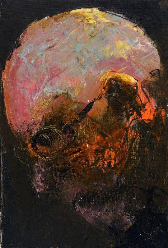 Niyaz Najafov  Portrait  Oil on canvas  2012