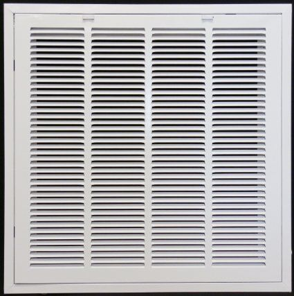 24 X 24 Return Filter Grille For Drop Ceiling Easy Access Door Latch To Filter Uses 20x20 Filter Heating Vents Hvac Duct Dropped Ceiling Air Filter