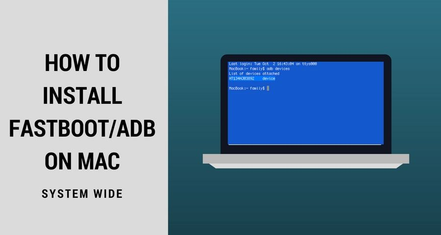 How to Install Fastboot/ADB on Mac - To Flash Android