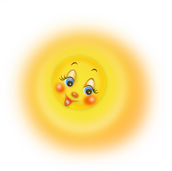 Sol Lua Nuvem E Etc Cute Sun Cute Cartoon Pictures Clip Art