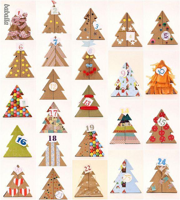 calendario de adviento /advent calendar @Claire Nottonía Baballa