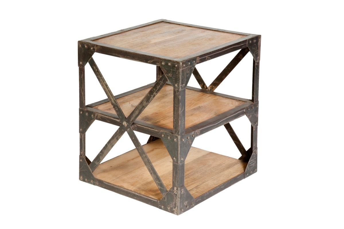 Cdi Furniture Industrial Side Table Reviews Furniture Macy S In 2020 Industrial Side Table Side Table Decor