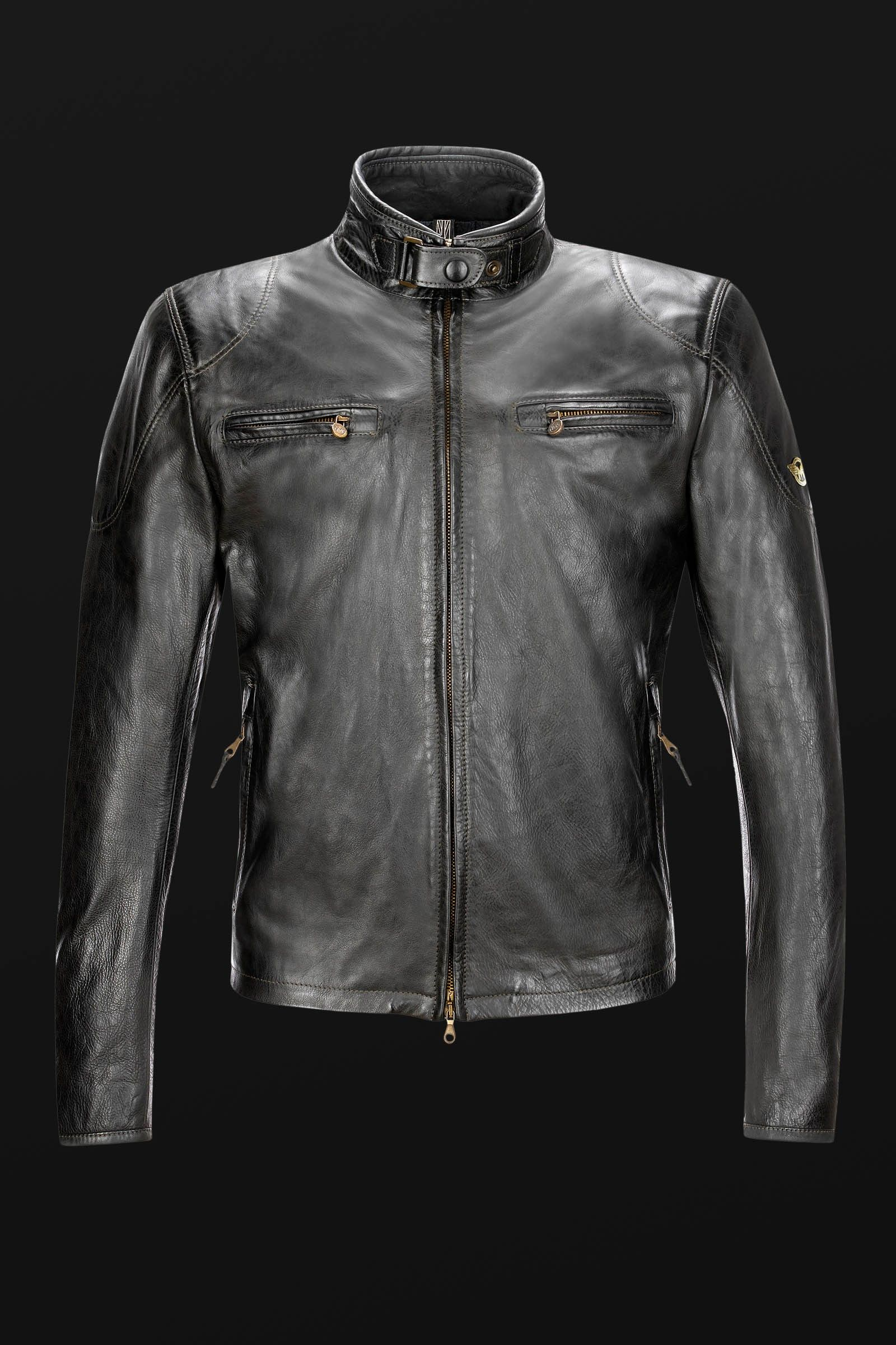 f6fa9fd02 OSBORNE BLOUSON - leather - jackets - man - Matchless London ...