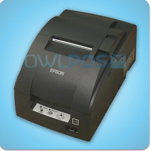 Epson Tm U220b Impact Kitchen Printer Model M188b Refurbished Dark Gray Ticket Printer Refurbishing Printer