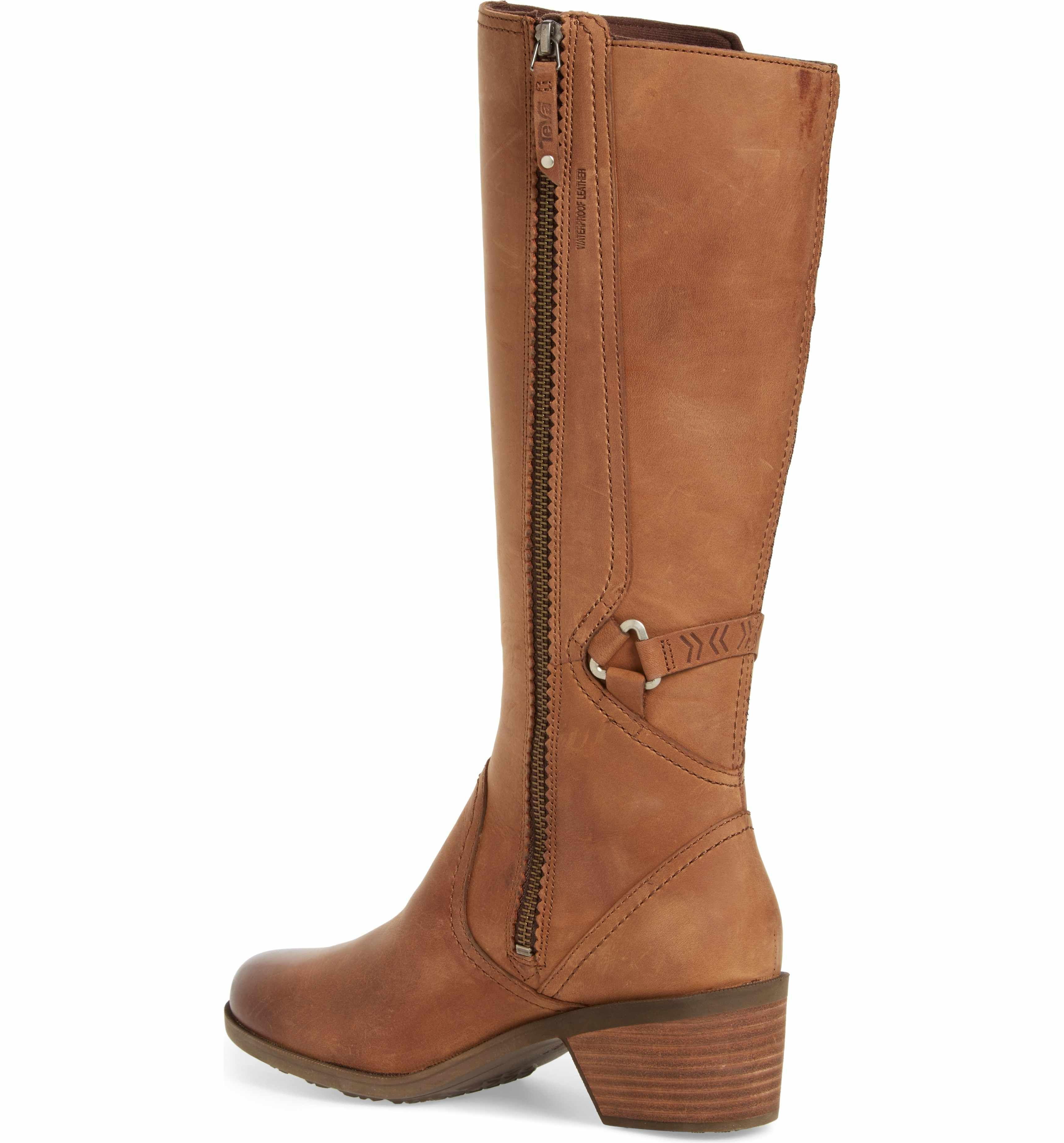b2b360b8c Main Image - Teva Foxy Waterproof Boot (Women) Brown Fall Boots