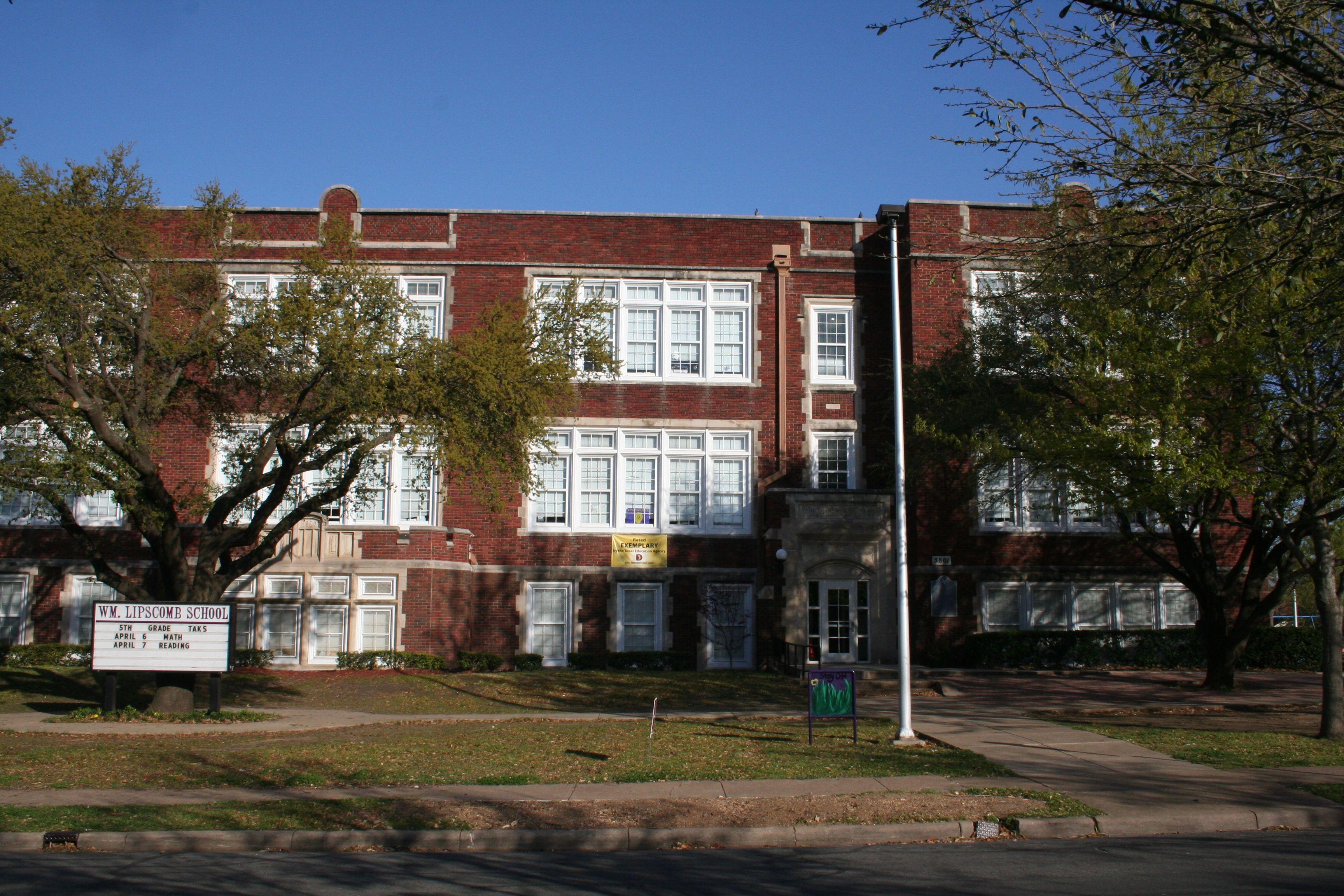 William Lipscomb Elementary School Elementary Schools A