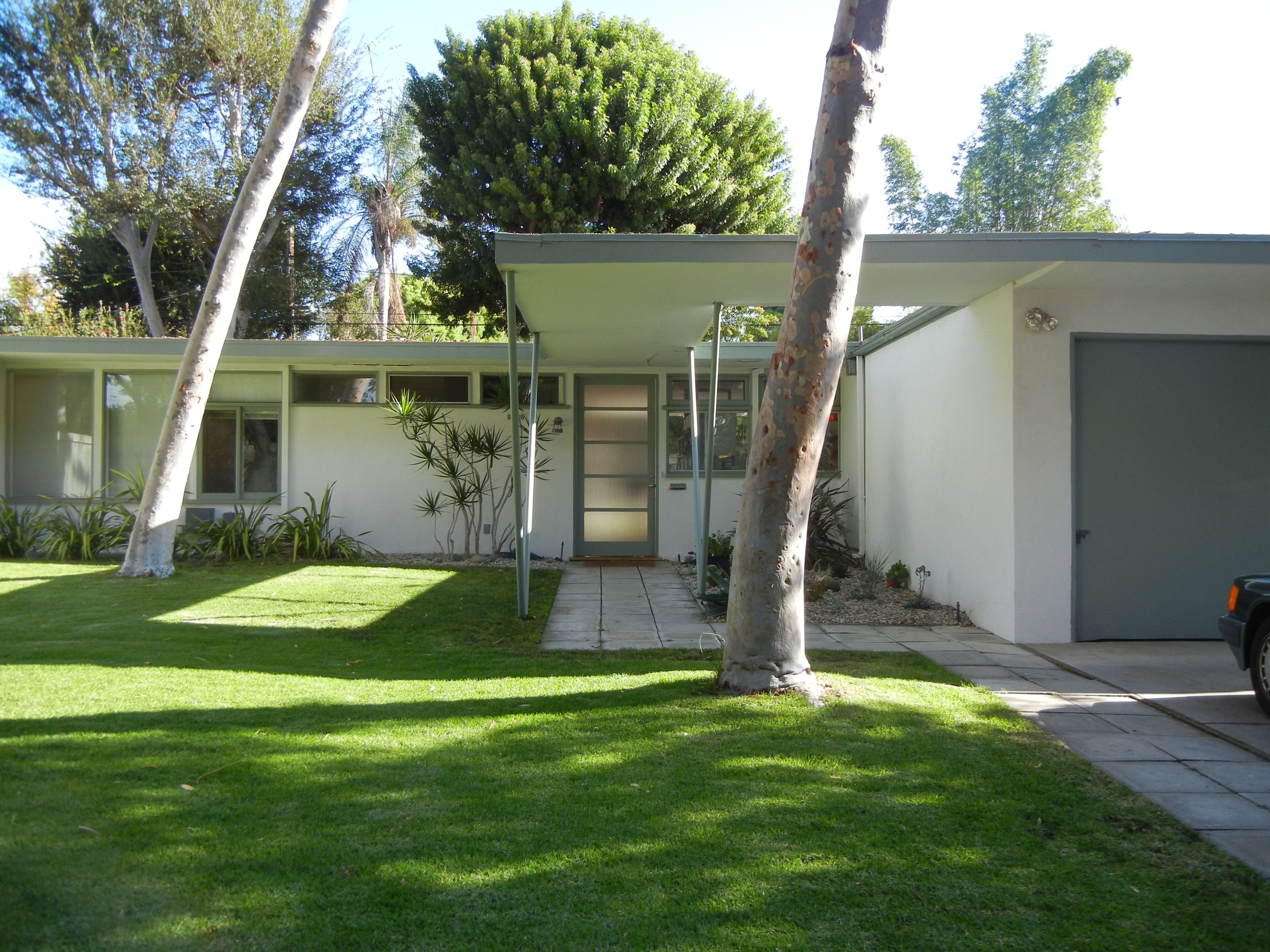 Magnificent Mid Century Modern Homes Architecture Impressive White