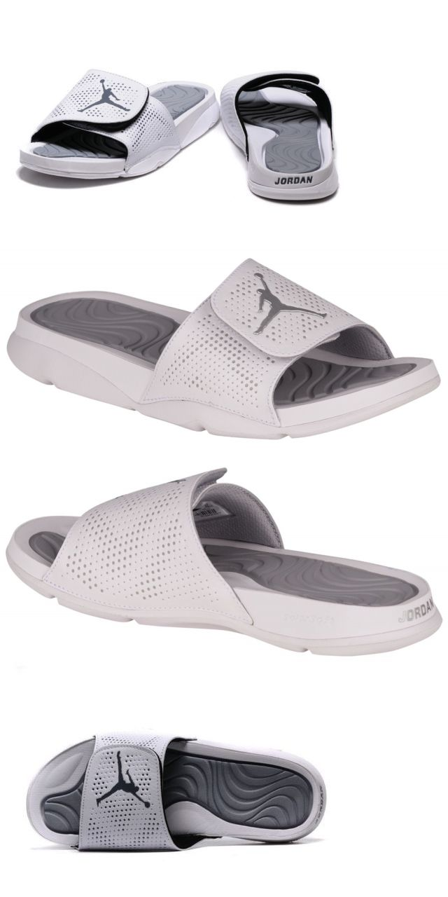f5f289615b5 Sandals and Flip Flops 11504  Nike Air Jordan Hydro 5 Slides New Men Sz 11 Sandals  Flip Flops 820257 120 White -  BUY IT NOW ONLY   47.92 on eBay!