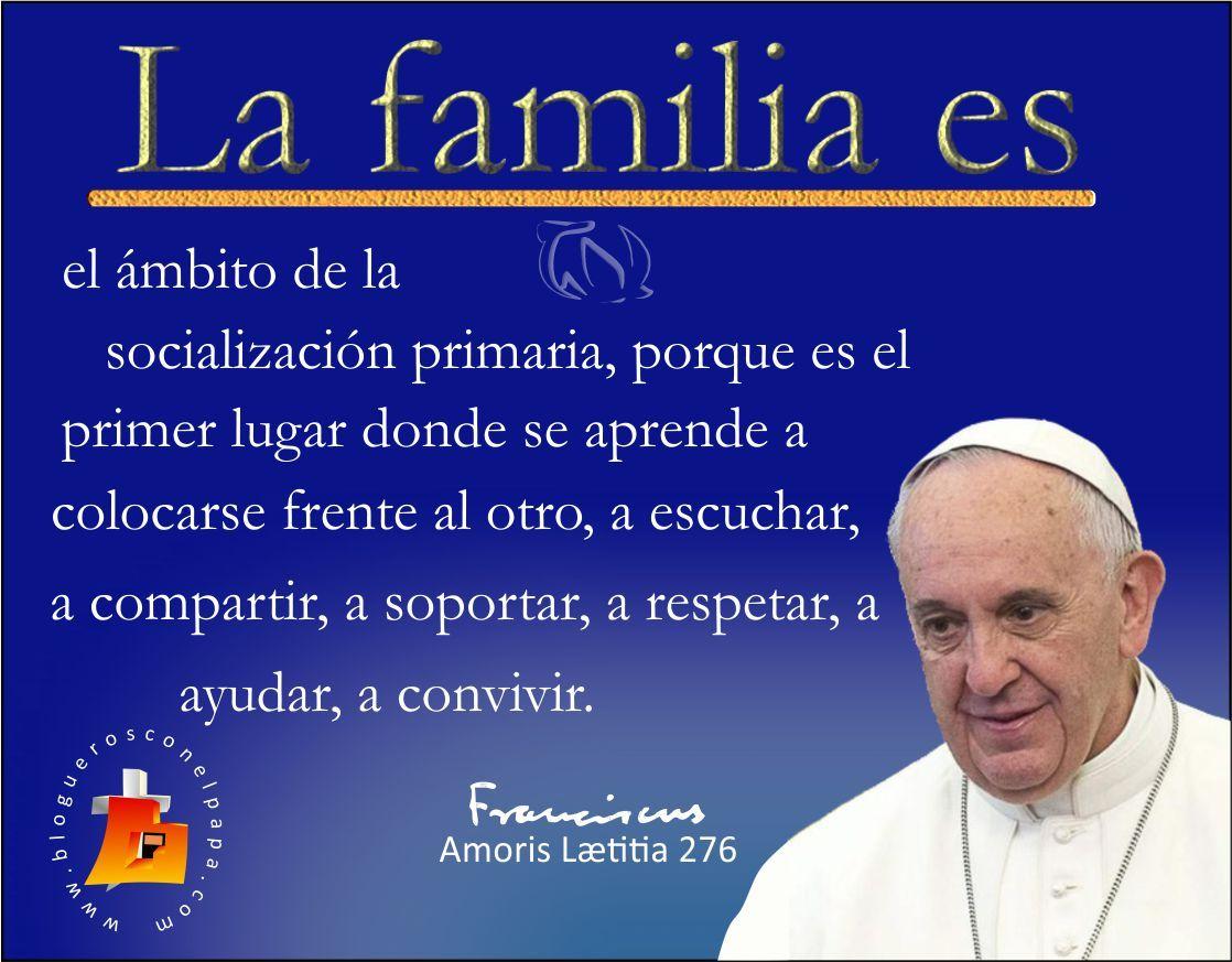 Tarjetas Y Oraciones Catolicas La Familia Es Papa