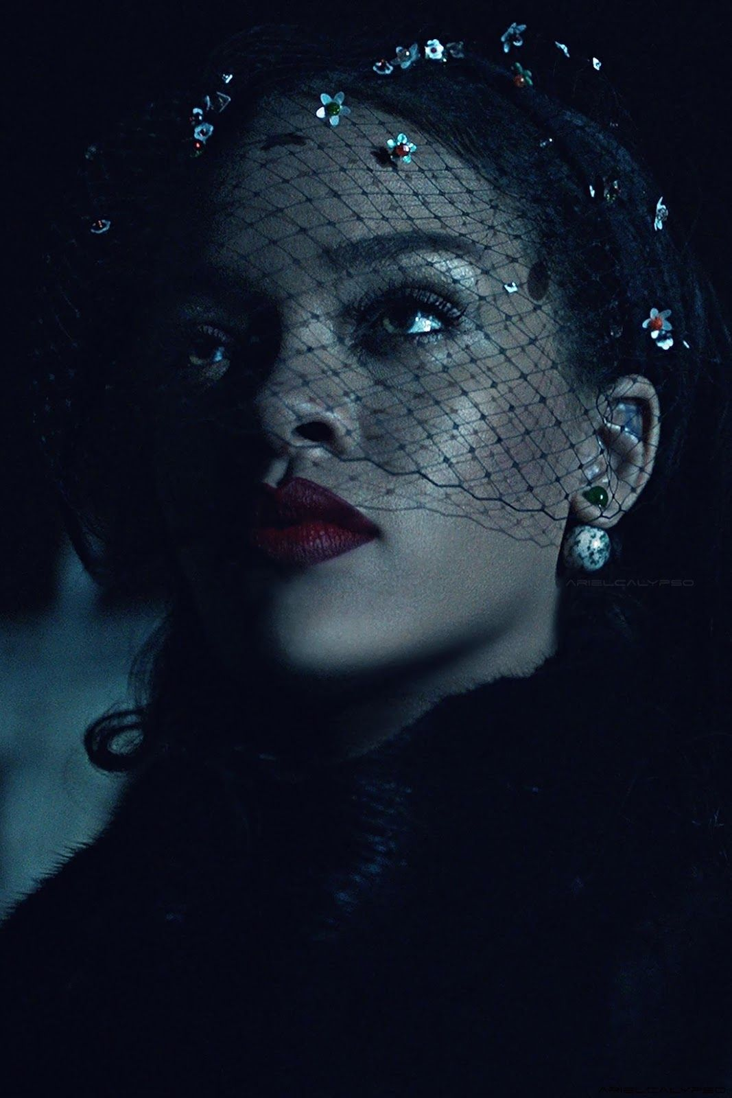 Dior Secret Garden 2015 Campaign featuring Rihanna
