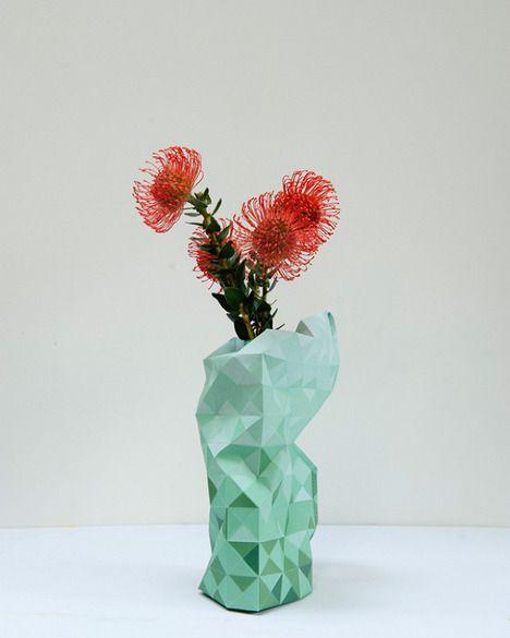 Paper Vase Cover - Pepe Heykoop
