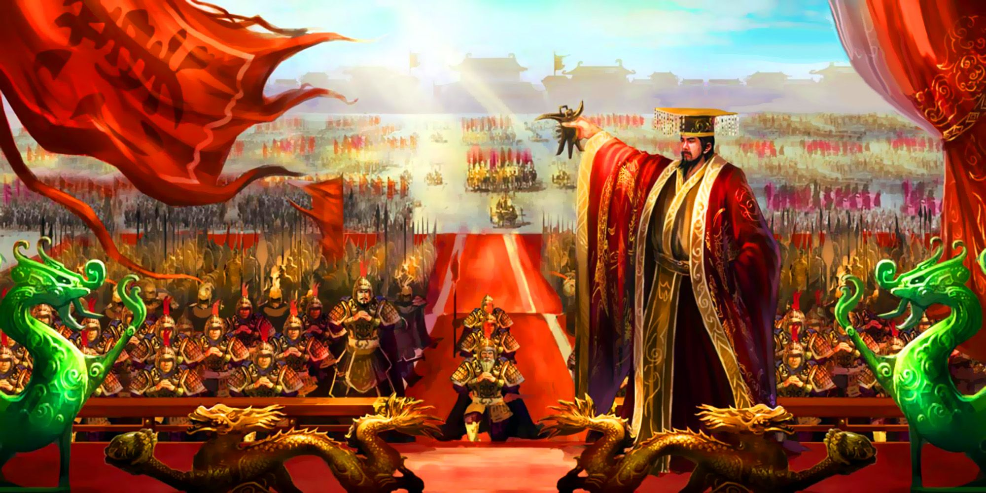 Emperor Wudi Of The Great Han Dynasty Celebrating China S