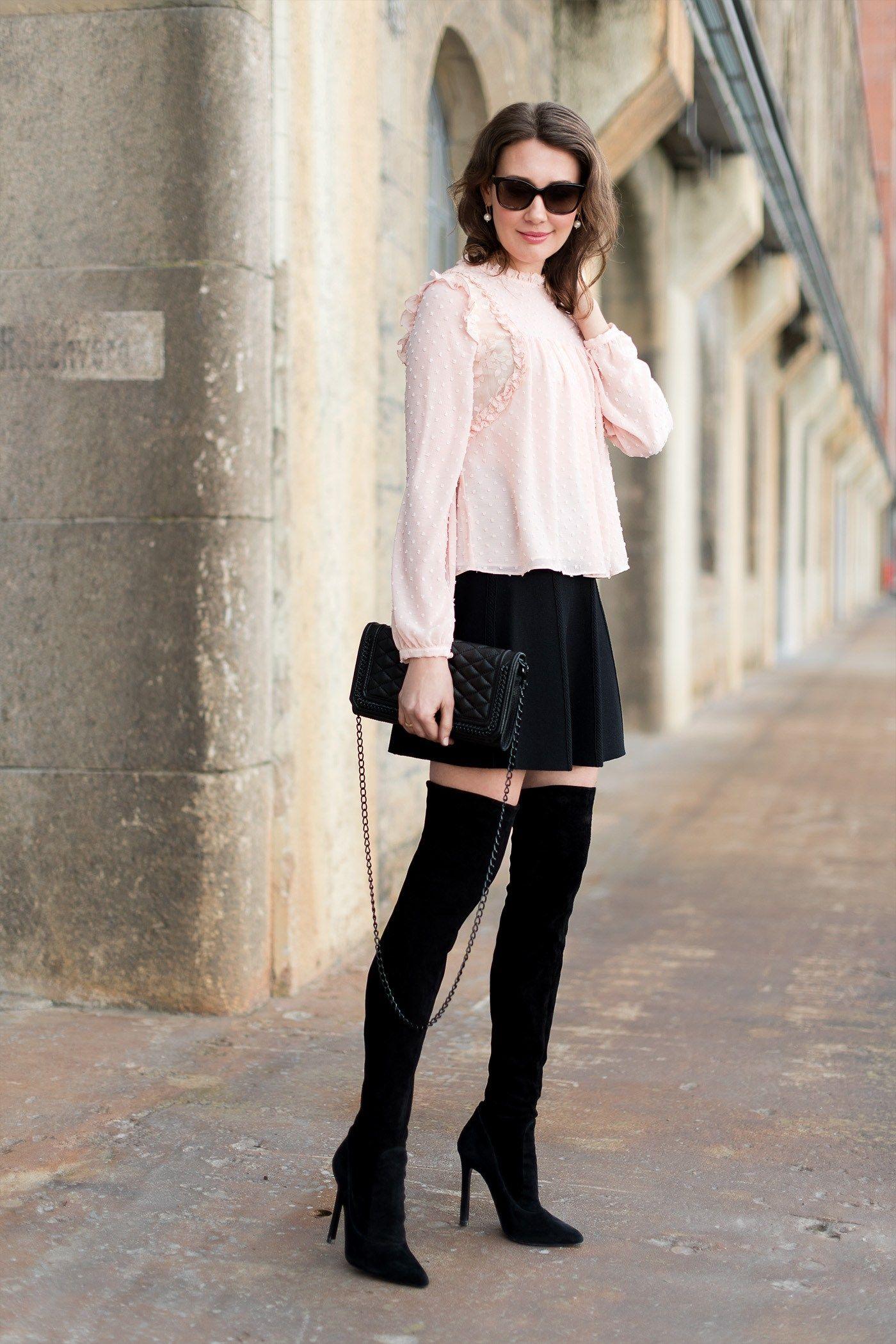 c96d4162540 zara-over-th-knee-boots -blouse-rebecca-minkoff-love-mini-rock-mini-skirt-fashionblog