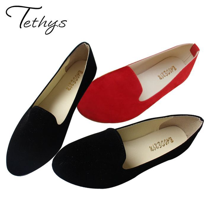 Tendance Chaussures 2017/ 2018 : 2017 Spring Autumn Lady Shoes Ballet Flats  Women Shoes Casual Ballerina Shoe Rou... - Vogue Tunisie | Maroc | Algérie  ...