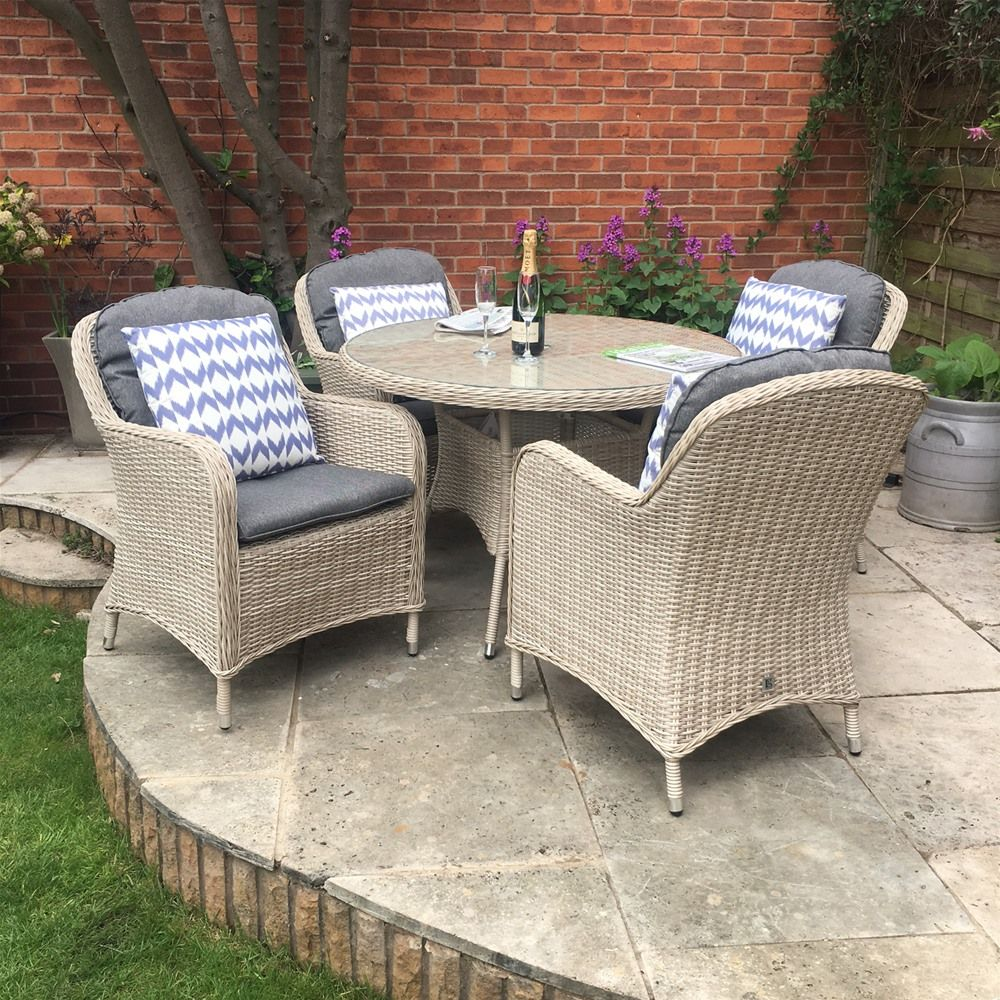 Rattan Garden Furniture 4 Seater lg outdoor marseille barley 4 seat rattan garden furniture set