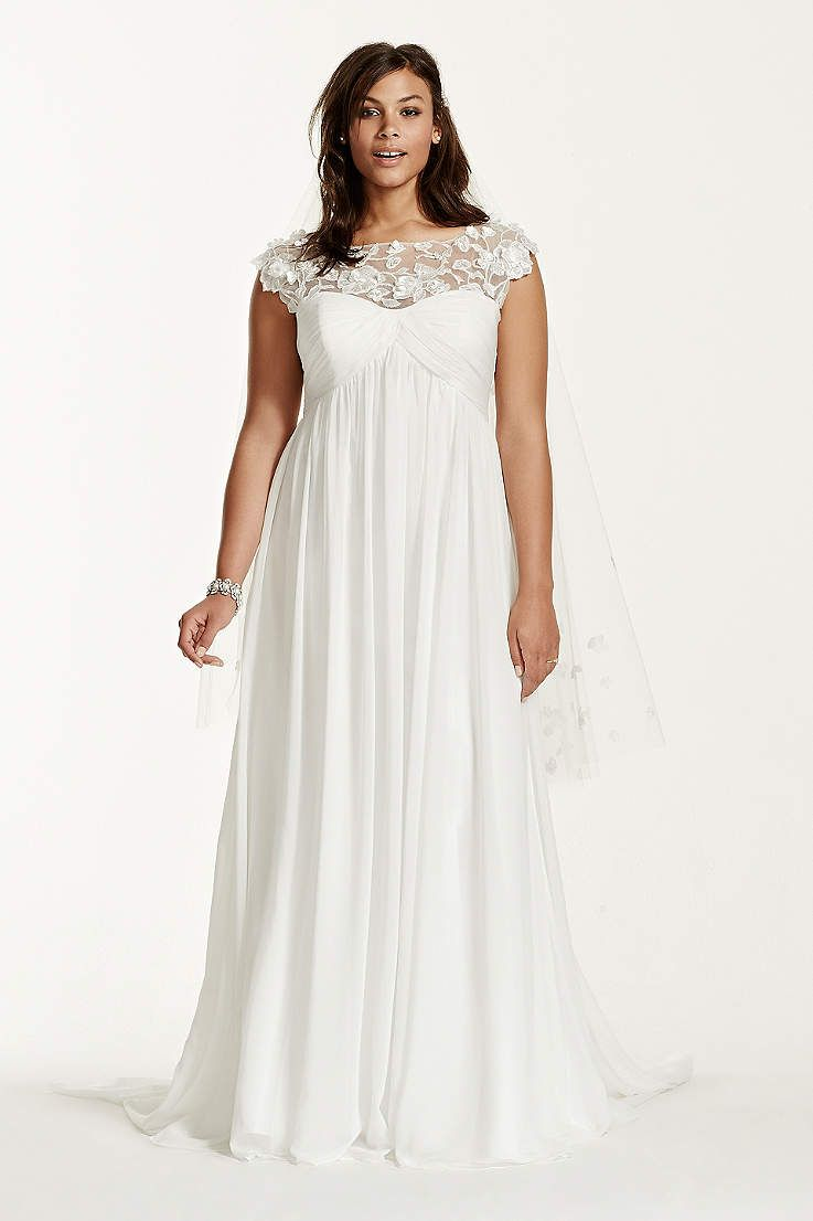 David\'s Bridal has beautiful plus size wedding dresses that come in ...