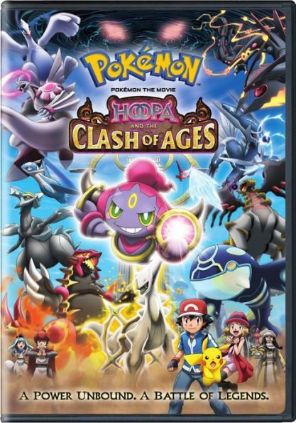 Pokemon The Movie Hoopa And The Clash Of Ages Pokemon Movies