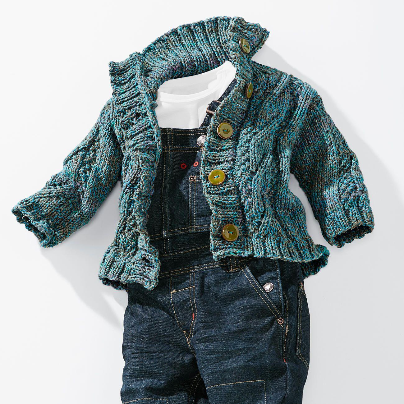 Modell 440/5, Kleinkinderjacke aus Lysander von Junghans-Wolle | für ...