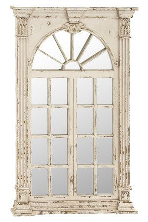 Blythe Wall Mirror Wood Wall Mirror Decor Distressed Wood Wall