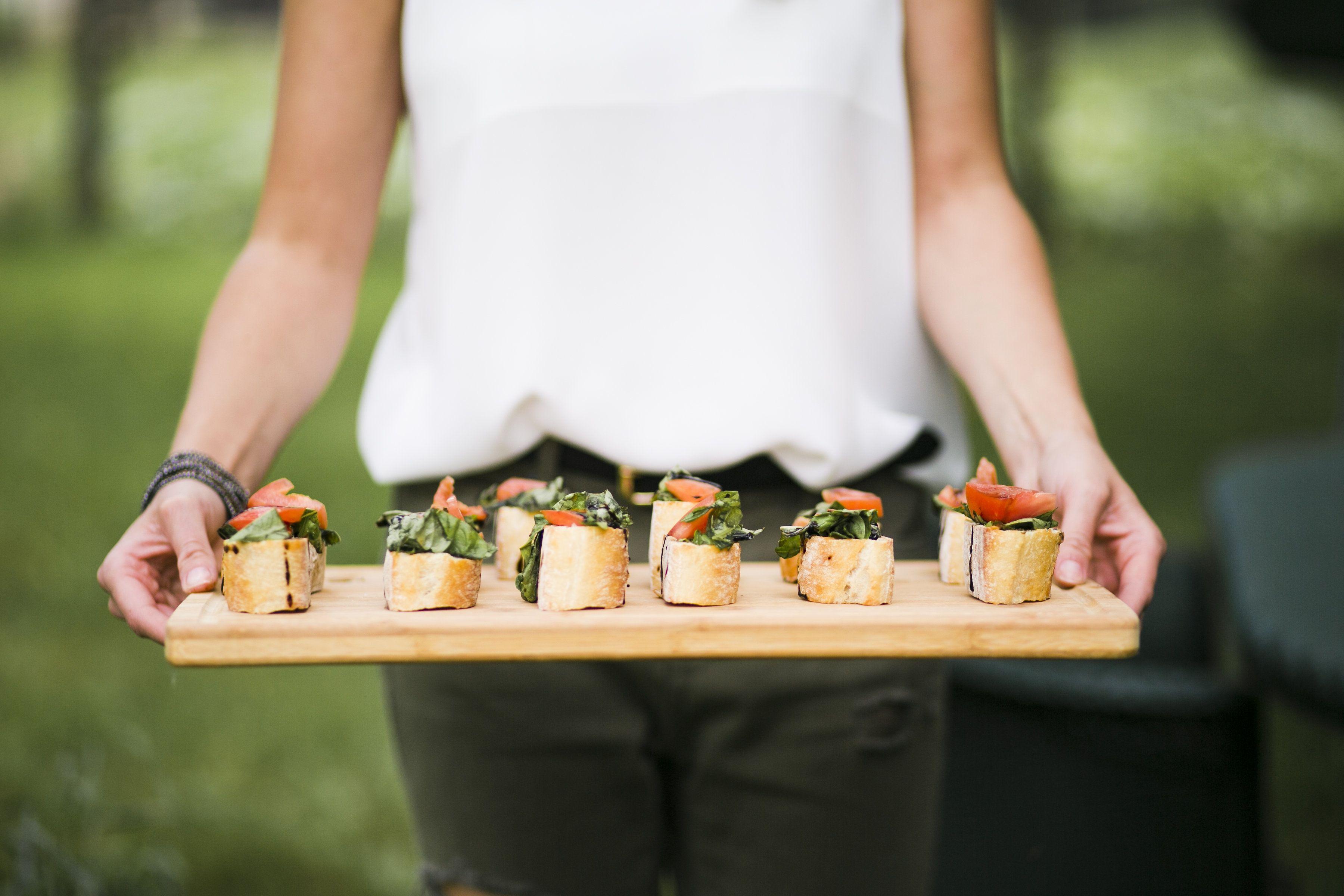 Backyard Dinner Party | Bruschetta