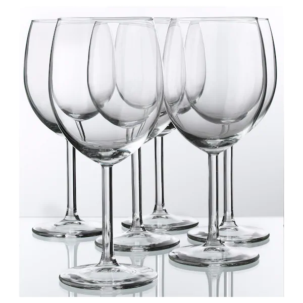 Svalka Wine Glass Clear Glass 10 Oz En 2020 Verre De Vin Verre A Vin Rouge Et Porte Verre A Vin