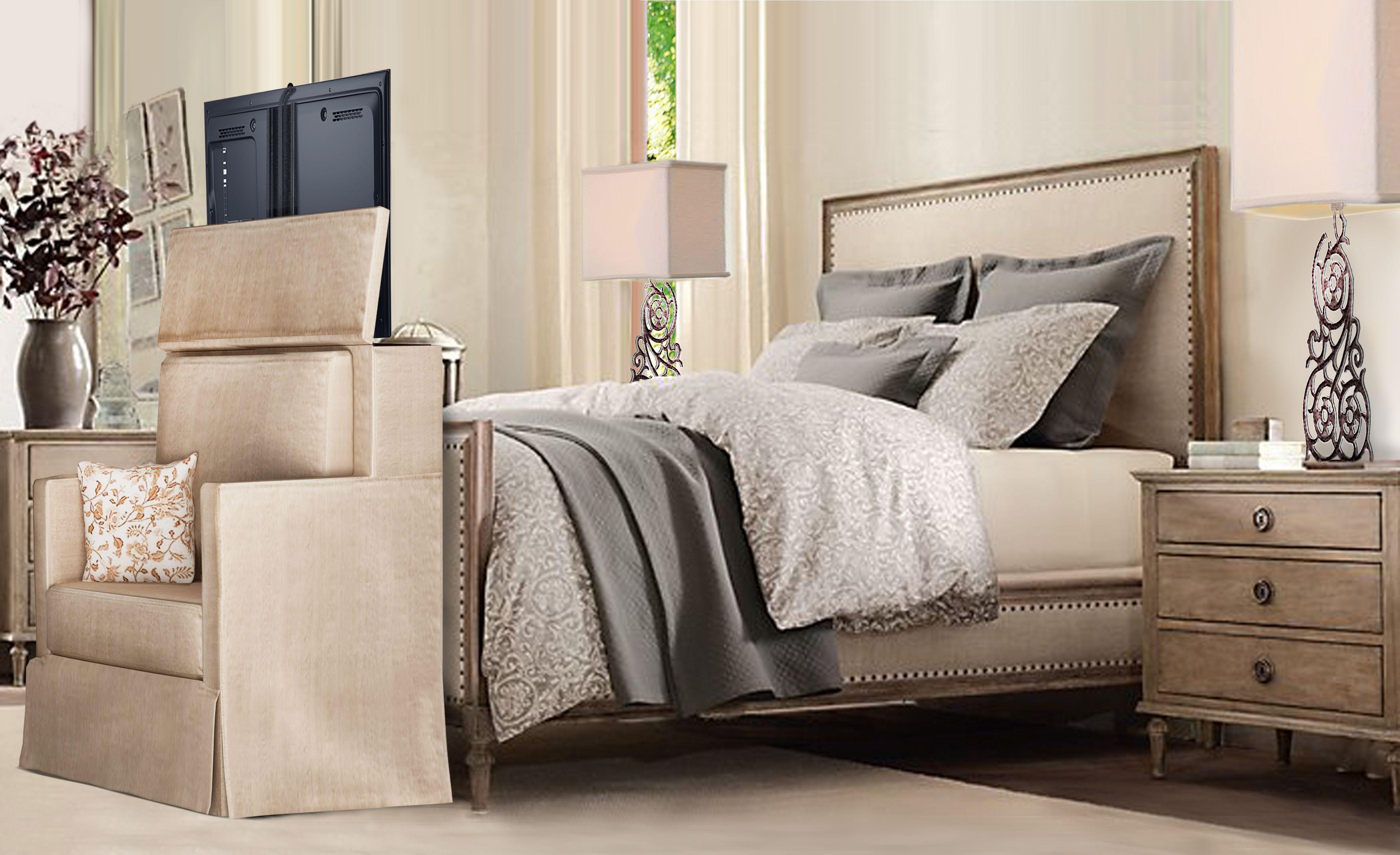 Tv In The Back Of A Settee 2499 00 Home Bedroom Tv In Bedroom