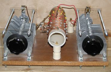Homebrew Antenna Tuner | Ham radio | Ham radio antenna, Hf radio