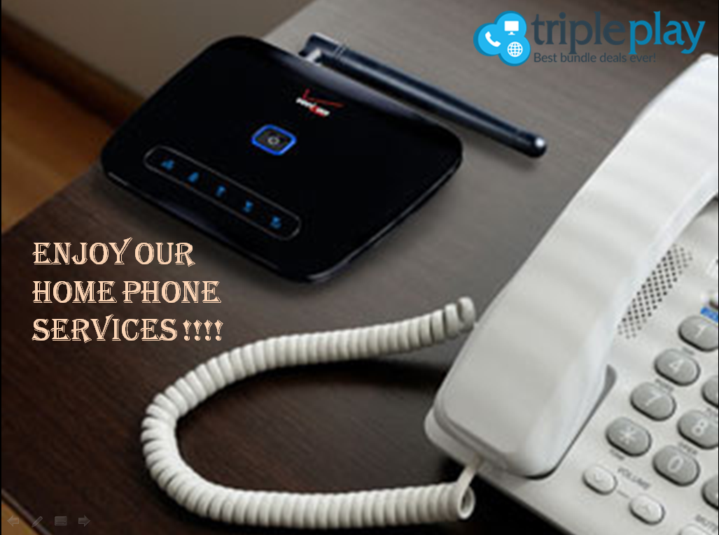 Are you aware of the home phone service that we are