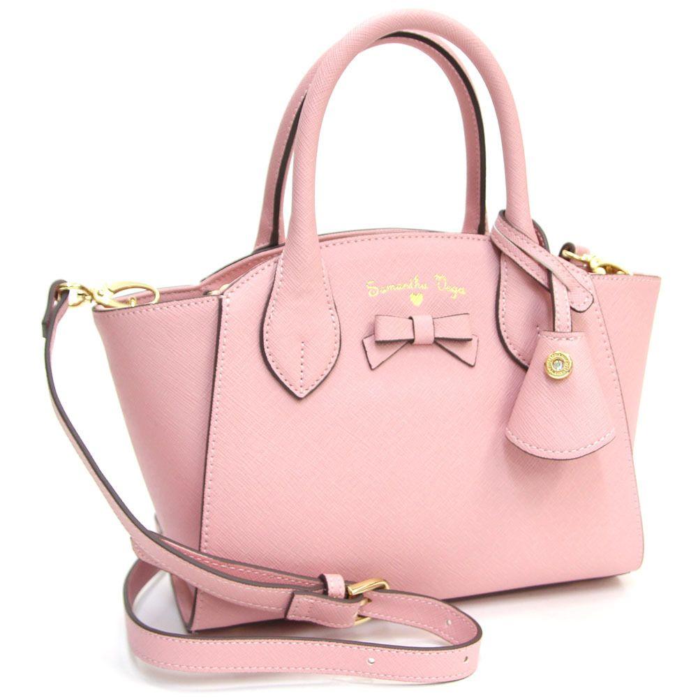 Samantha Thavasa Handbags Vega 2 Way Handbag Justine Dusty Pink