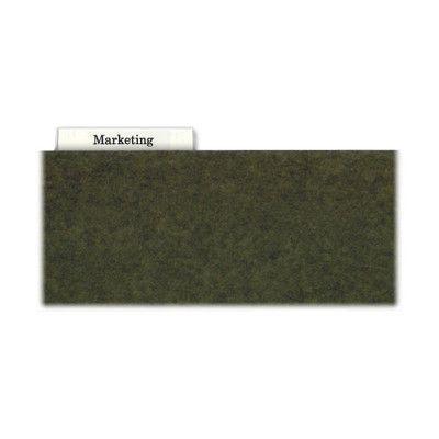Kleer-Fax Hanging File Folder Tabs, 1/3 Cut, Clear (Set of 4)