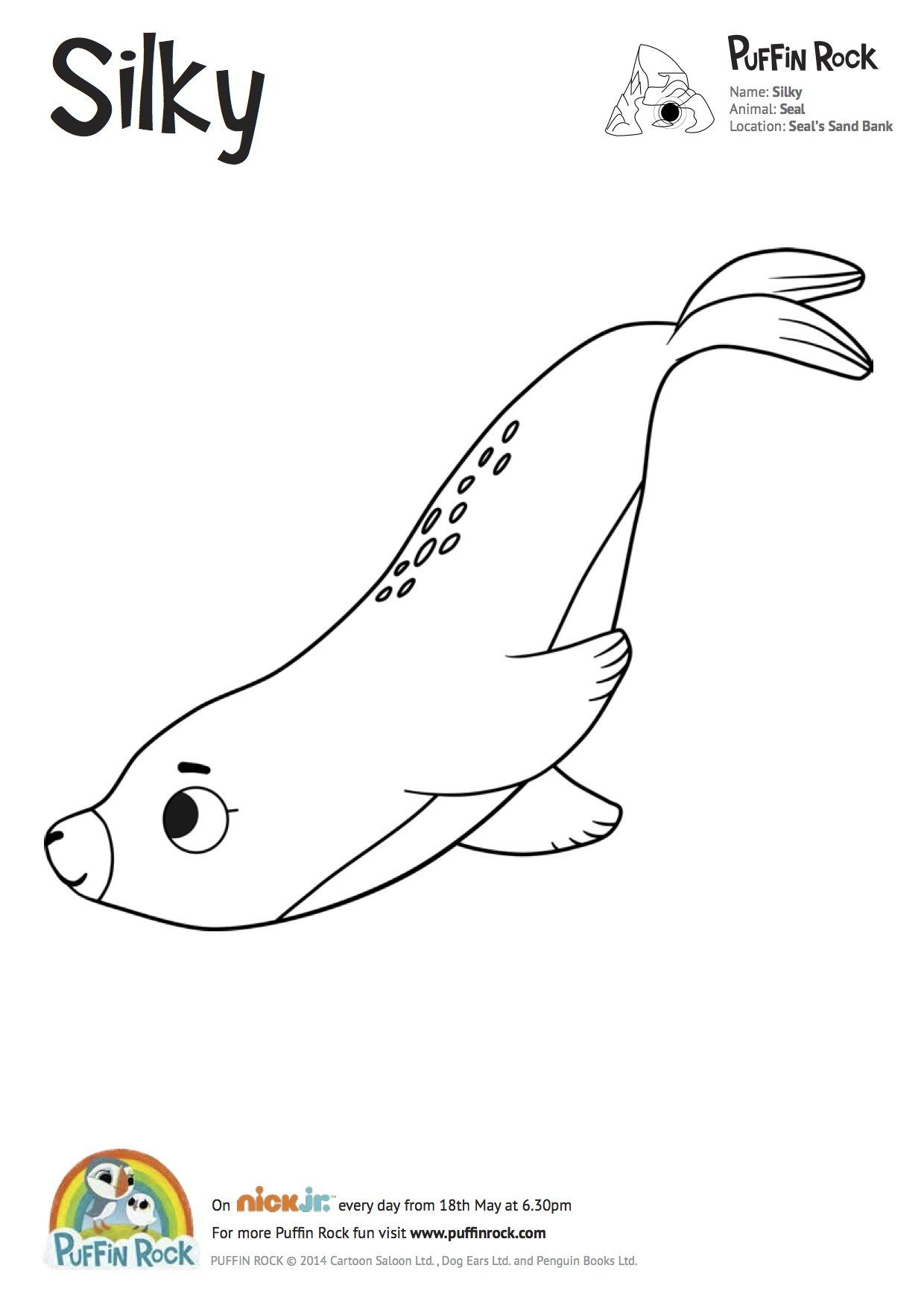 Free Puffin Rock Colouring Sheets Toddler Art Projects Coloring Pages Coloring Pages For Kids